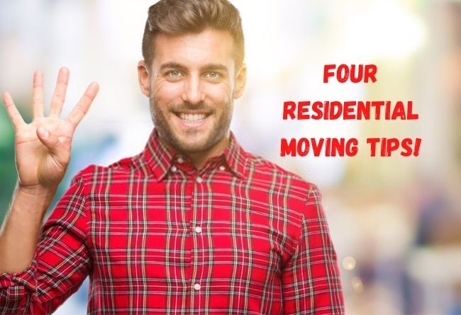 four residential moving