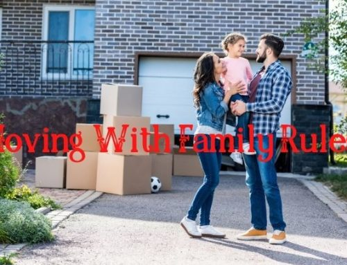 Twenty Most Effective Moving Rules, When You Move With Your Family!